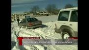 Как преживяха снежната блокада в село Орешак, община Аксаково 24.01.2010