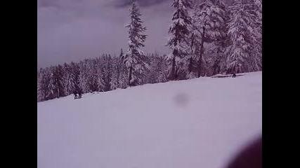 ски спускане :)