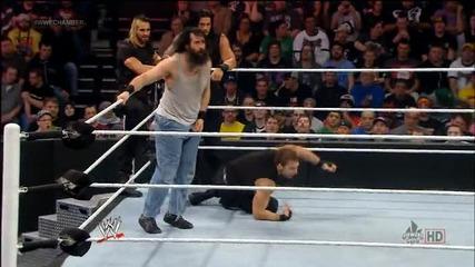 Щит срещу Семейството уаят (велик мач) / Elimination chamber 2014