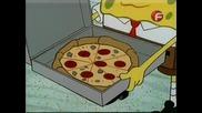 Спондж боб квадратни гащи - Доставка на пица