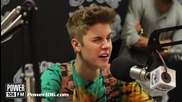 Justin Bieber Funny interview July 2012 Power106 Big Boy's Neighborhood