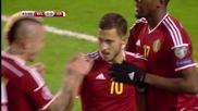 Белгия 3 - 1 Израел ( Квалификация за Европейско първенство 2016 ) ( 13/10/2015 )