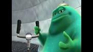 Pixar - Извънземно се учи да пилотира