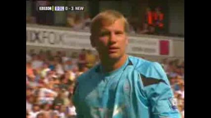 Newcastle at Bolton 3 - 1