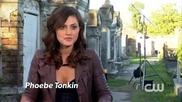 "The Vampire Diaries Сезон 4 Епизод 20 ""the Originals"" - Зад Сцената"