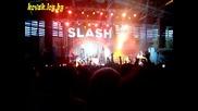 Концерт на Слаш в Студенски град