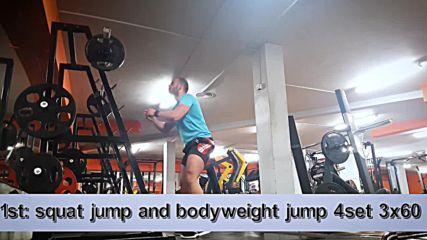 90 дневна трансформация | Изграждане на мускул, горене на мазнини | Ден 37 - Крака