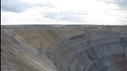 Най-голямата мина за диаманти в света - мината Мир в Русия
