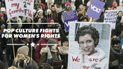 Women's March goes pop culture