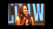 Lucy Lawless - Hallelujah Concert (Universal City Walk)