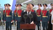 Russia: Putin attends blessing of foundation stone of Russian Army's future cathedral