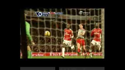 Арсенал - Ливърпул 1:1 Първо Полувреме