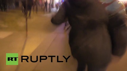France: Panic in central Paris as crowds flee Republic Square