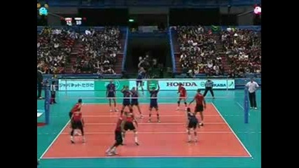 Great Volleyball Attacks