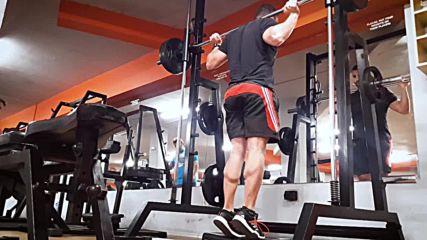 90 дневна трансформация | Изграждане на мускул, горене на мазнини |Ден 26 - Корем,задно бедро,прасец