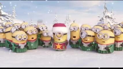 Minions Singing Jingle Bell Merry Christmas 2014