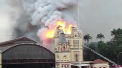 Brazil: One reported dead after blaze engulfs museum in Sao Paulo