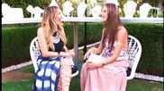 Alessandra Ambrosio Dishes on Her New Clothing Line at Coachella