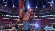Wrestelmania 28 John Cena Vs The Rock Hd Highlights