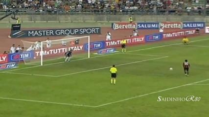 The New Ronaldinho First match 2010/2011 Goals and Joy