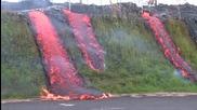 Лавата на Хаваите продължава да изгаря всичко по пътя си