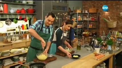Kартофено пюре с коприва - Бон апети (14.04.2016)