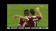 Сиена 1:4 Милан (29-04-2012 г.)