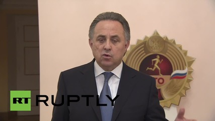 Russia: Sport Minister Mutko dismisses WADA doping allegations