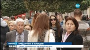 Трима столетници гласуват в Пловдив