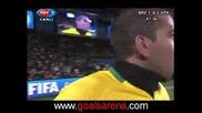 Бразилия - Юар 1:0 Купа на конфедерациите 24.06.09