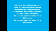 Billionare by Travis Mccoy and Bruno Mars - Lyrics