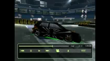 Nfsu2 4 Laps Stadium Drift 2 - 489, 425