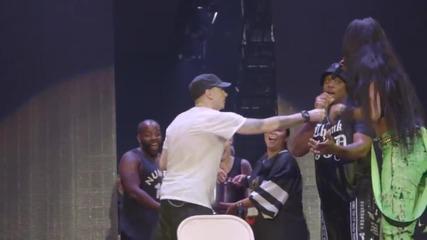 Challenge completed Dr Dre. Eminem Als Ice Bucket Challenge