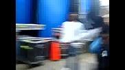 Sean Paul Plays Ball Backstage