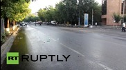 Armenia: Police remain on Yerevan's streets following electricity price hike demo