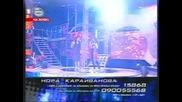 НОРА и МАРЯНА ПОПОВА правят зашеметяващ дует:) - music idol - 21.04.08 GQ