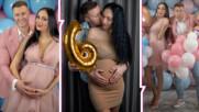 Момче или момиче? Арти и Кристина Дончева разкриха пола на бебето на пищно парти