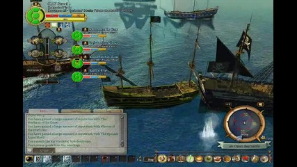 Pirates Of The Burning Sea-pirates vs French Fleet