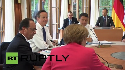 Germany: G7 leaders discuss climate change on final day of summit