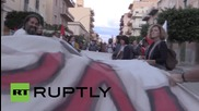 Italy: 1,000 Sicilians rally against NATO Trident drills