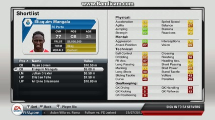 Fifa13 Manager Mode Arsenal#1#