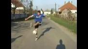 (самоучител) Freestyle Футболни Трикове