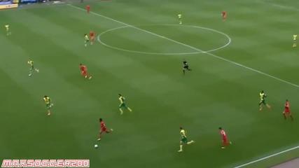 Ливърпул пречупи Норич и докосва титлата (norwich City vs Liverpool 2-3) (20_04_2014)