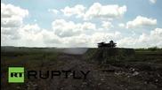 Russia: Uran military robots unleash firepower in Novorossiysk drills
