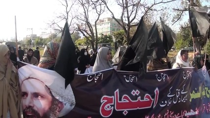 Pakistan: Islamabad protesters denounce Saudi execution of Sheikh Nimr