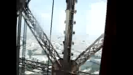 Айфелова Кула - Изкачване