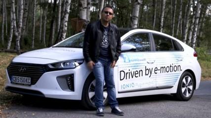 Hyundai IONIQ Plug-in Hybrid тест драйв