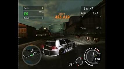 Nfs Underground 2 - Nosxvenoms first Boxcar circuit drifting ever