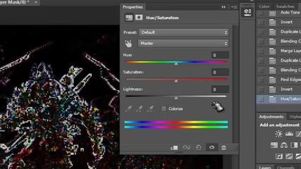 Фотошоп Ефект на дигитален дисплей