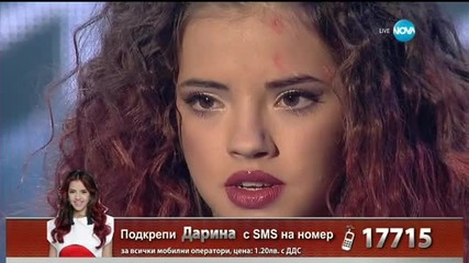 Дарина Йотова - Dernière Danse - X Factor Live (08.12.2015)